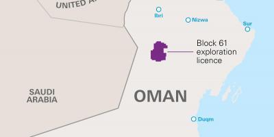 Karte Oman.Oman Map Karten Oman West Asien Asia