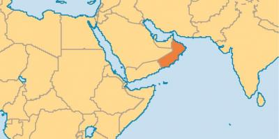 Karte Oman Salalah.Oman Map Karten Oman West Asien Asia